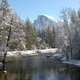 Thumbnail for Half Dome dusted with Powdered Sugar