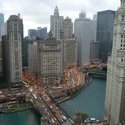 Thumbnail of View from Tribune Tower